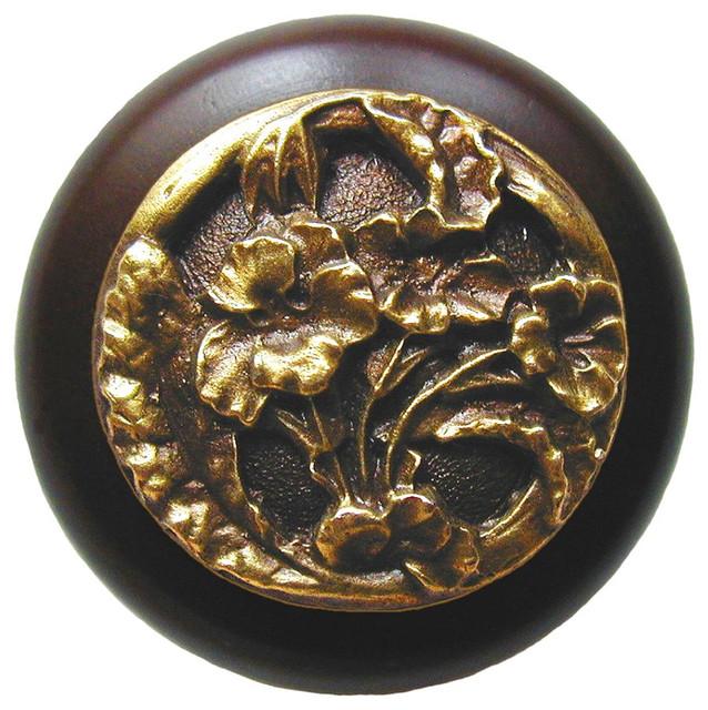 Nina Knob, Oil Rubbed Bronze, Clear Crystal