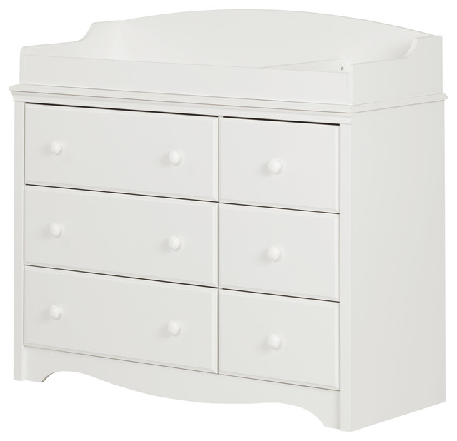 South Shore Angel Changing Table/Dresser With 6 Drawers   Transitional    Changing Tables   By South Shore Furniture