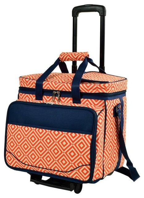 Wheeled Picnic Cooler For 4.