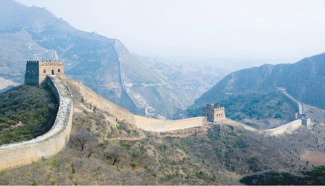 Great Wall China Giant Prepasted Wallpaper Accent Mural