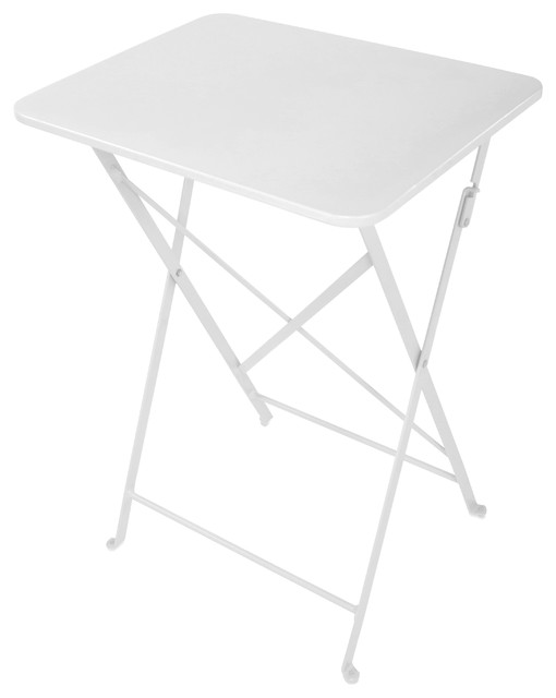 Dandy Cafe Indoor/outdoor Tray Table, White.