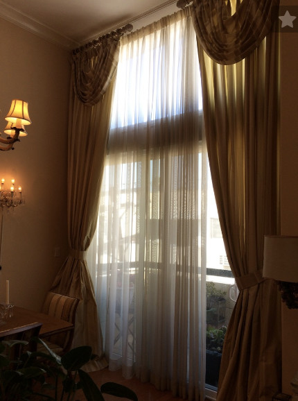 wide divider windows result rod really move horizontal one drapes layering above behind curtains image narrow curtain long for tall multiple