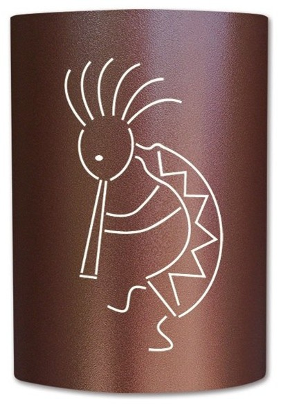 Kokopelli Wall Sconces : Kokopelli Sconce - Outdoor Wall Lights And Sconces - by Slip on Sconce by Jelly Jar Genius