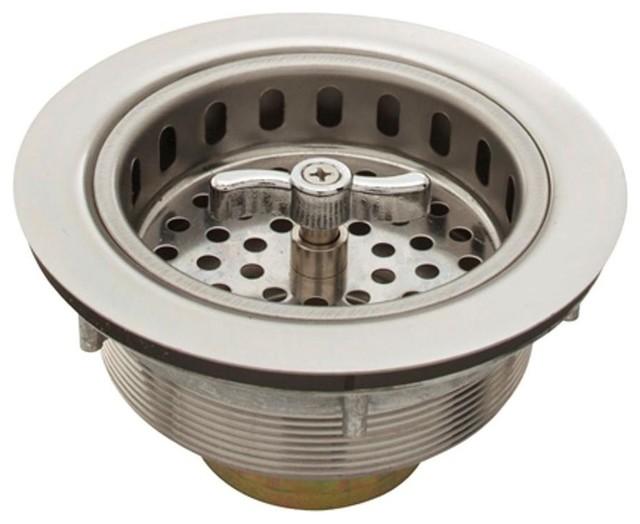 Belle Foret 3 5 Spin Lock Sink Strainer Stainless Steel Kitchen Fixture Parts Houzz