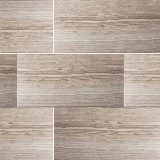 Glazed Eramosa Beige Porcelain Tile Sample Transitional Wall And Floor