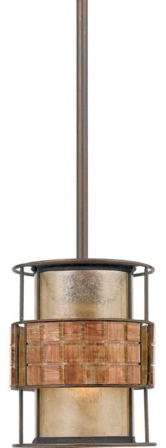 Laguna 1-Light Mini Pendants, Renaissance Copper.