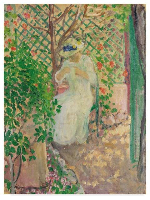 The Cherry Tree study by Berthe Morisot Giclee Fine ArtPrint Repro on Canvas