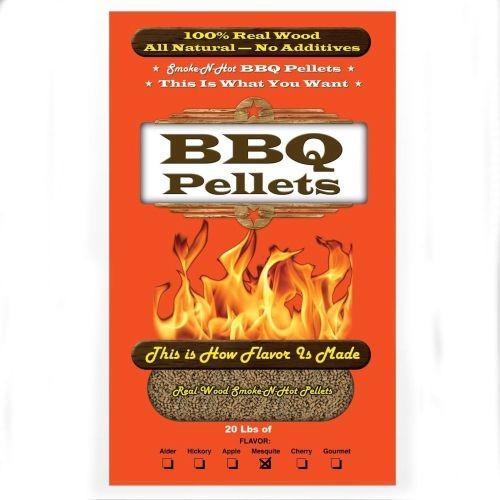 Smoke-N-Hot Rancher&x27;s Mesquite 20lb Bag Food Grade Pellets.