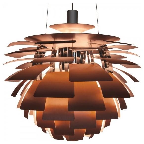 The artichoke pendant contemporary pendant lighting by stilnovo the artichoke pendant copper mozeypictures Gallery