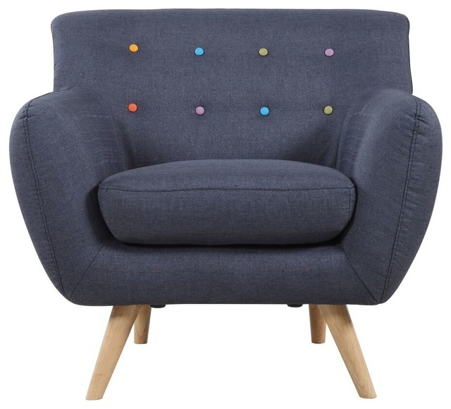 Gerald Accent Chair Midcentury Armchairs And Accent