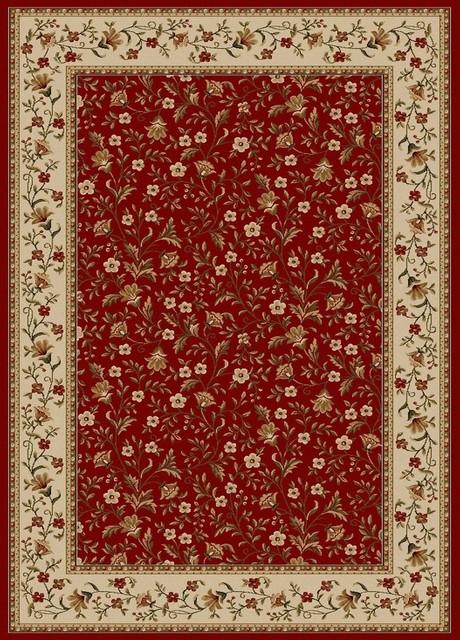 Como 1593 Red Traditional Rug