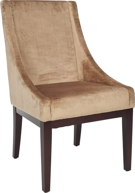 Excellent Sloping Arm Chair Champagne Ocoug Best Dining Table And Chair Ideas Images Ocougorg