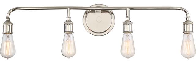 Quoizel Menlo Bath Light, Imperial Silver.