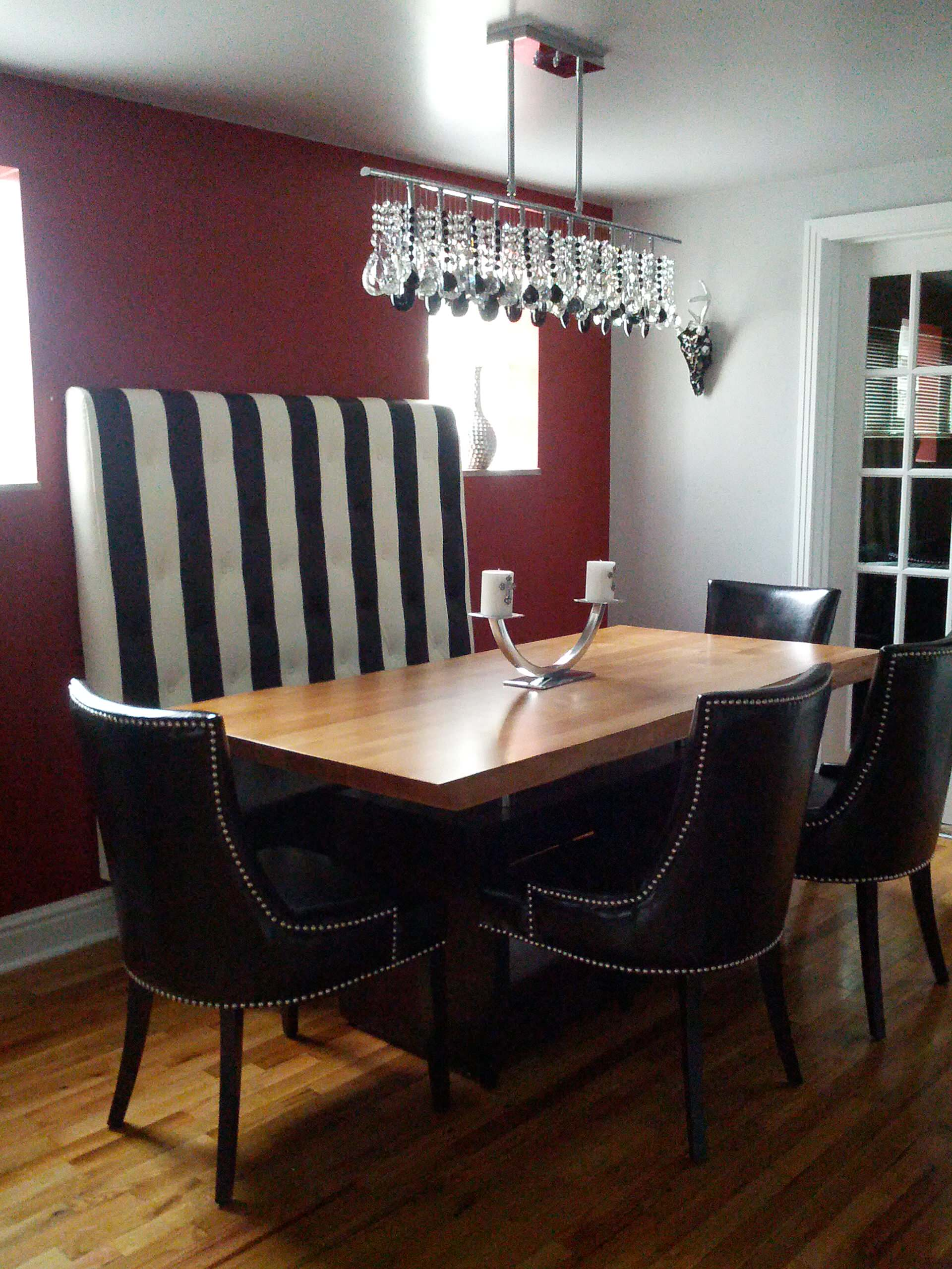A Great Small Dining Space by Eccentricity Designs