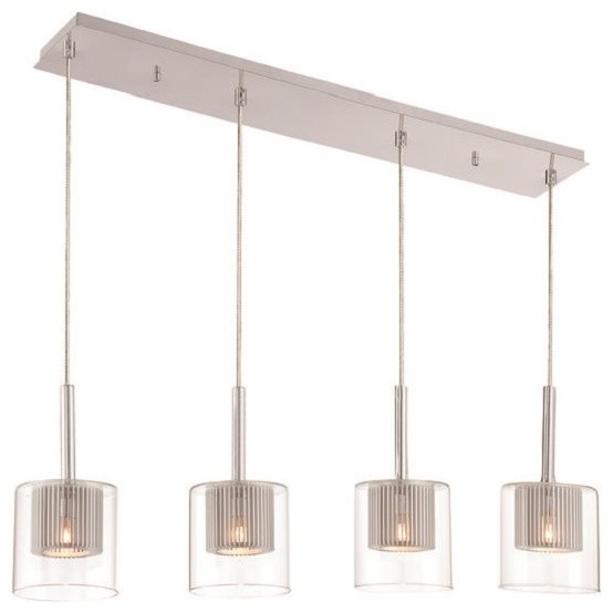 pendant lighting fixture. 4light rectangular pendant contemporarypendantlighting lighting fixture