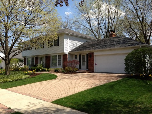 House needs a bit of curb appeal help would you paint the for Transition windows for homes