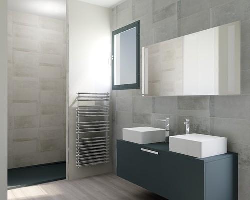 Votre avis sur notre salle de bain en 3d for Carreler sa salle de bain