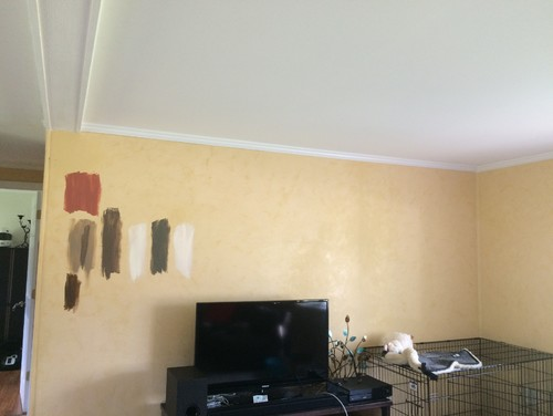 Remodeling kitchen and living room- need help with paint!