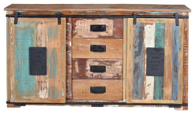 Jupiter Large Reclaimed Wood Sideboard