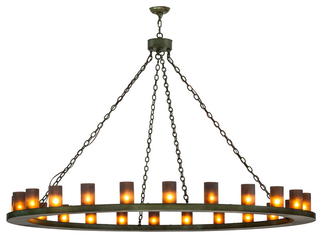 "72"" Loxley 24-Light Chandelier"