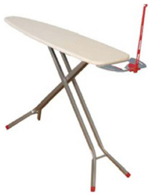 Silver Satin Ironing Board Silver Satin