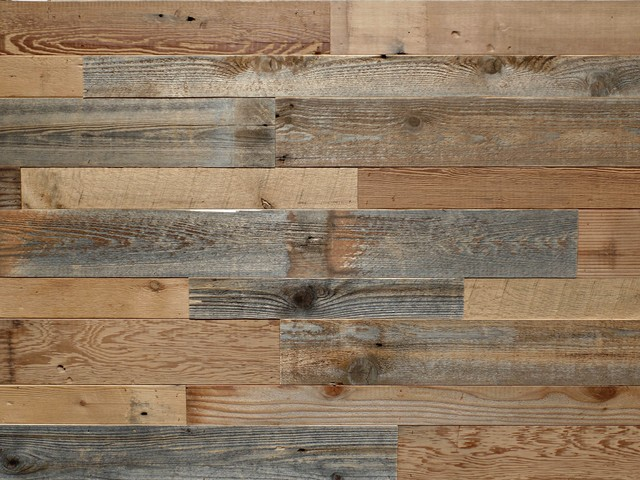 Reclaimed Wood Wall Paneling, 100 Square Feet.