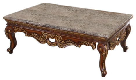 Loretto Coffee table Victorian Coffee Tables by Meridian