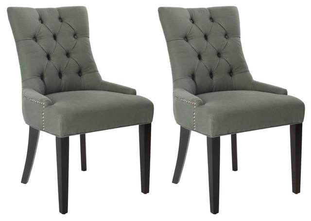Safavieh Elise Dining Chairs, Set of 2, Sea Mist
