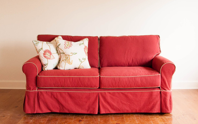 Red Sofa Slipcover Hereo Sofa
