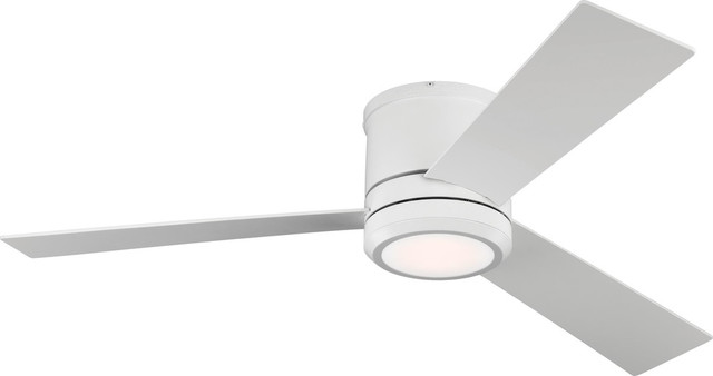 "Clarity Max Fan, Matte White, 56""."