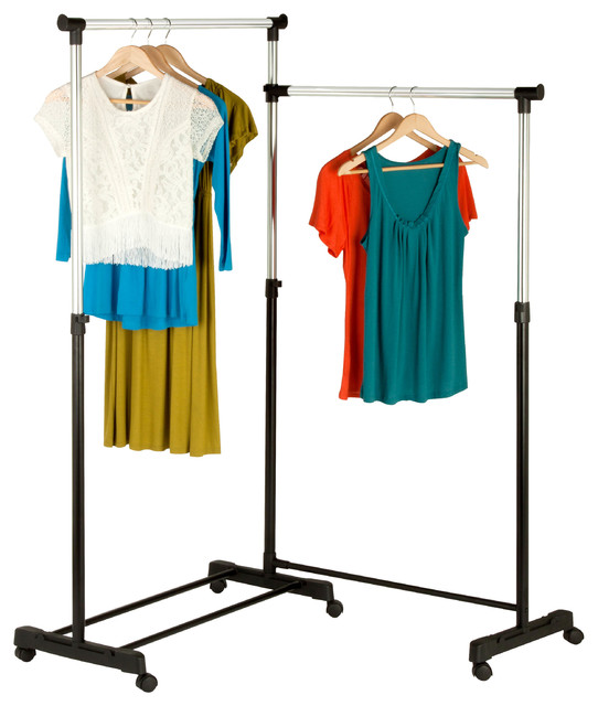 Rotatable Garment Rack.