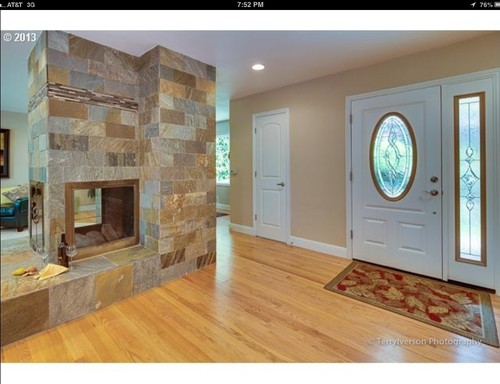 You Can Walk All The Way Around Fireplace And Each Side Is Long Narrow I Need Help