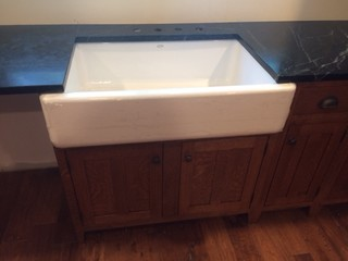 Question Re Farmhouse Sink And Countertop Overhang