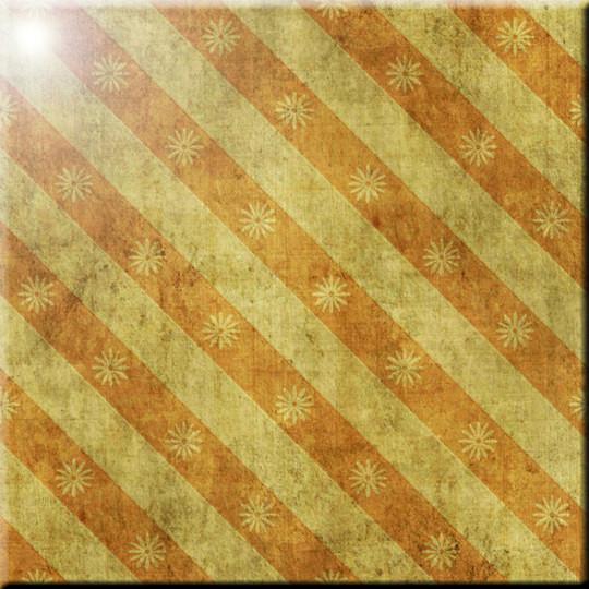 Rikki Knight Grunge Blue Flowers on Brown Design Ceramic Art Tile 12 x 12