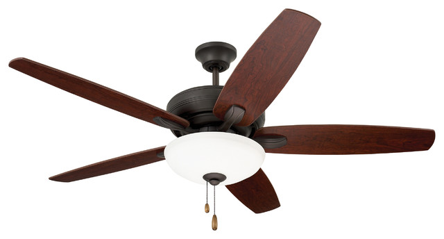 Ashland Ceiling Fan, Oil Rubbed Bronze.