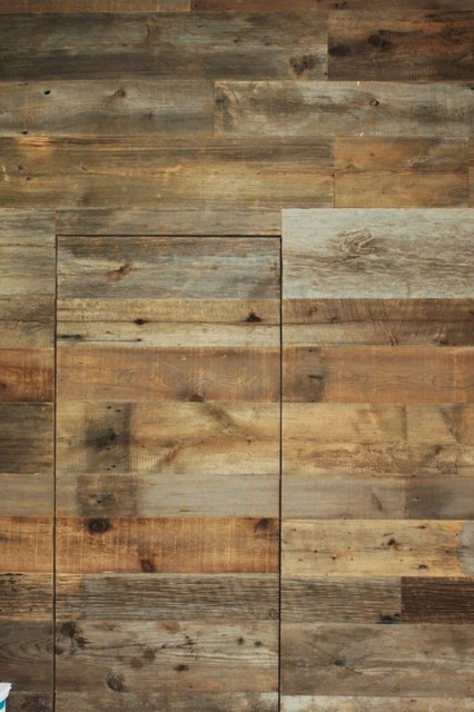 Reclaimed Barn Wood Walls contemporary - Reclaimed Barn Wood Walls - Contemporary - Dallas - By Urban Woods