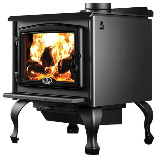 Osburn 2300 Wood Stove With Legs And Blower.