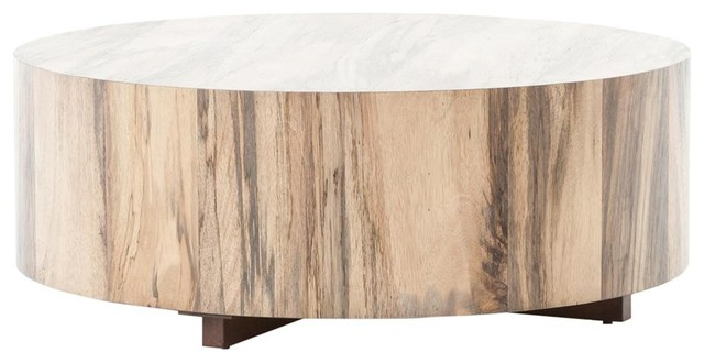 Awesome Roland Spalted Rustic Wood Block Round Coffee Table 40 Alphanode Cool Chair Designs And Ideas Alphanodeonline