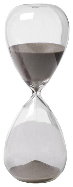 "30 Min. Hourglass Sand Timer With Smoke Sand 8"""