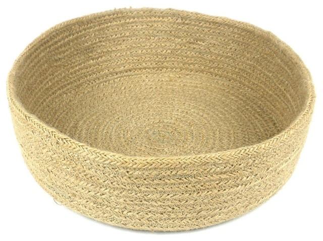 Jute Table Basket, Circular