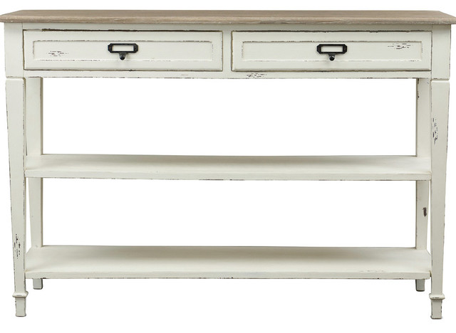 Dauphine Traditional French Accent Console Table.
