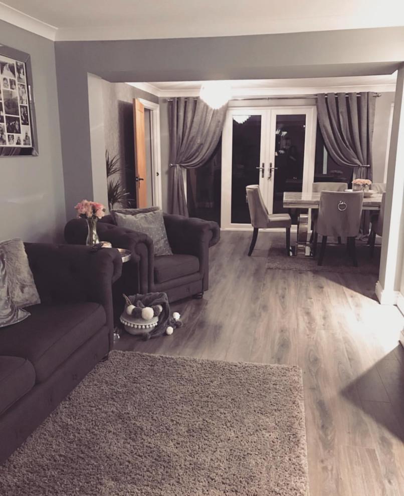 Residence Narrow Prestige Grey Oak Laminate Flooring Other By Direct Wood Flooring