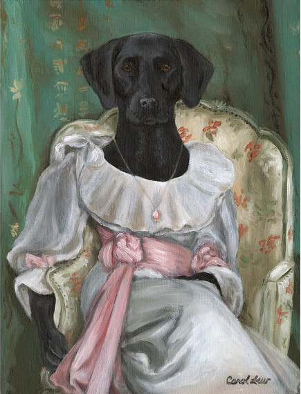 Labrador Retriever, Black Lab, Lady Sargent, 8