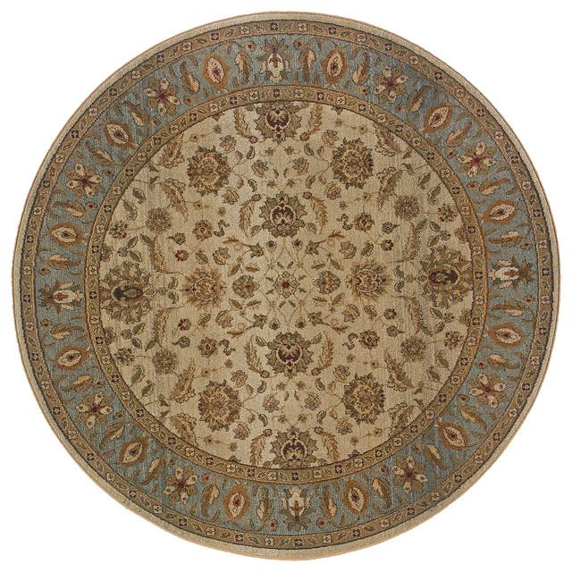 Oriental Weavers Genesis 952w1 Beige Blue Oriental Area