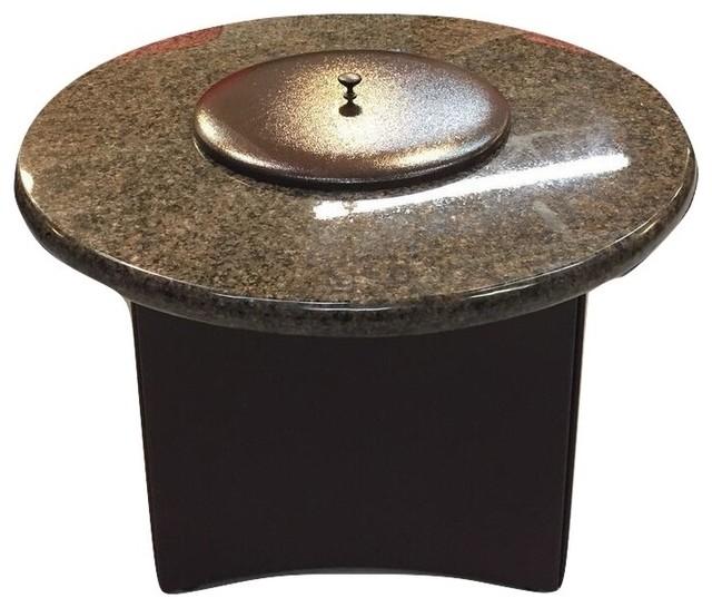 shop houzz oriflamme oriflamme mini 32 quot granite pit