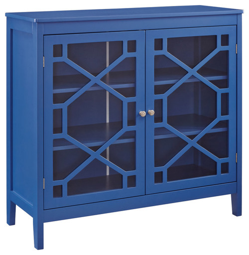 Felicia Cabinet, Blue, Large