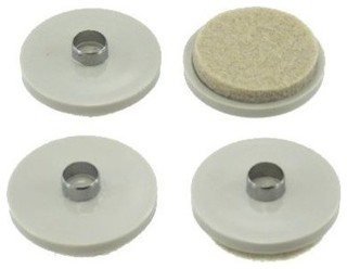 1 1 2 nail on heavy duty felt pads pack of 4 traditional nails screws and fasteners by - Screw in felt pads ...