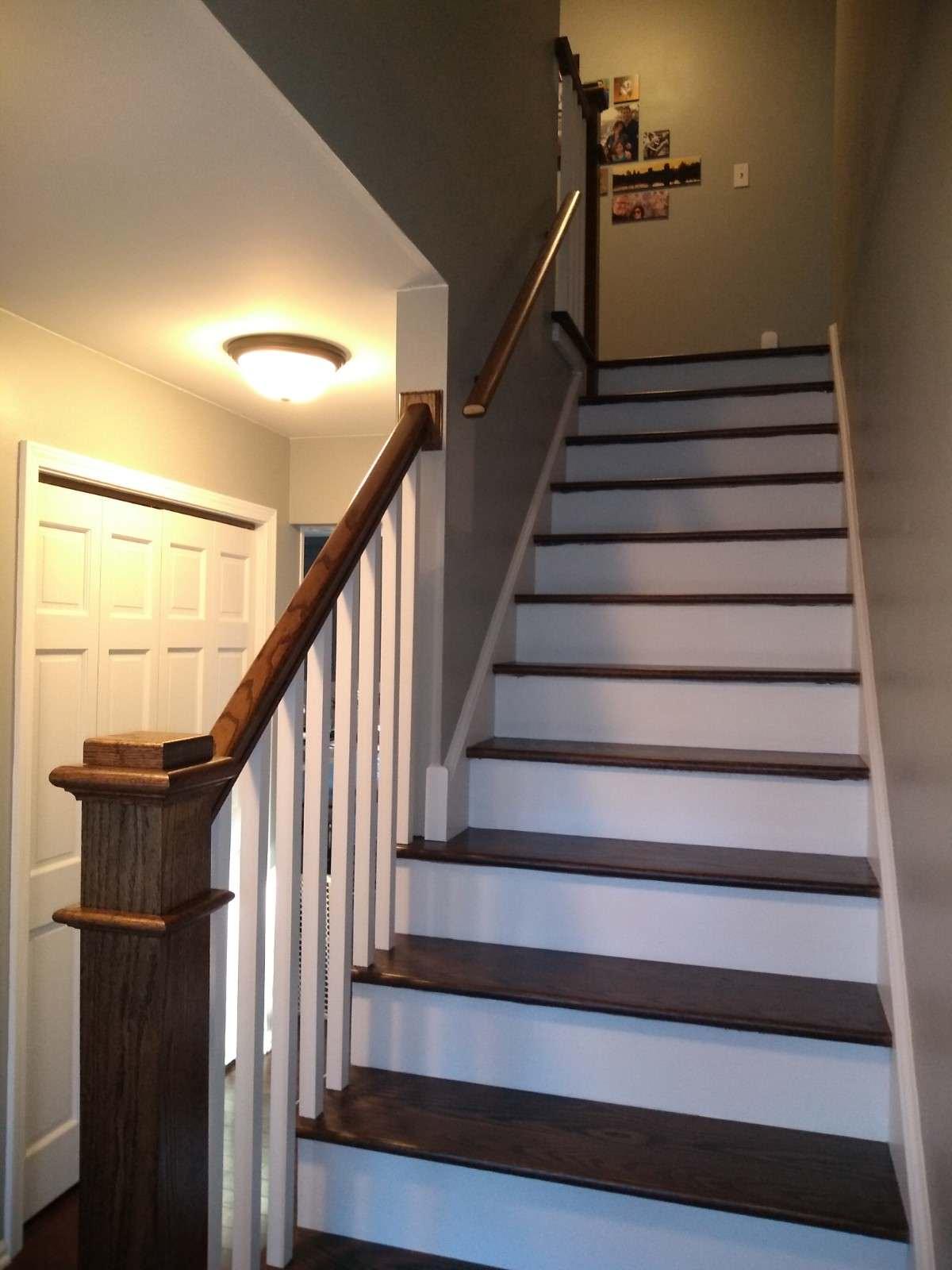 Modern Craftsman Staircase upgrade - AFTER