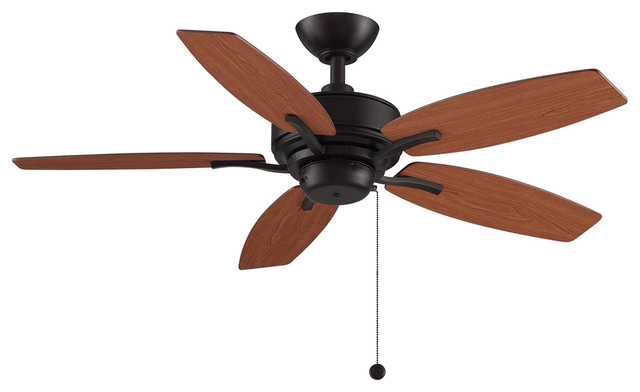 Aire Deluxe Indoor Ceiling Fans, Dark Bronze.