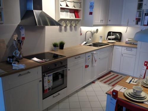 Updated Kitchen With Ikea Door Fronts